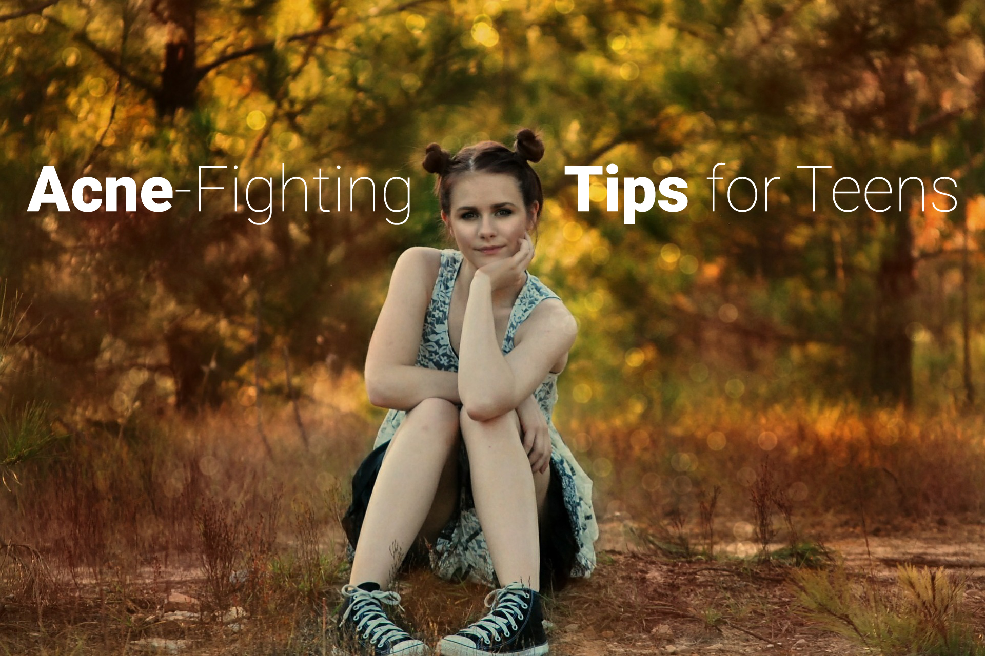 Acne fighting tips for teens